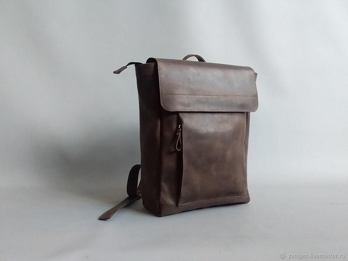 Рюкзак кожаный, Рюкзаки, Санкт-Петербург,  Фото №1