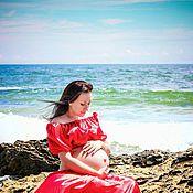 Одежда ручной работы. Ярмарка Мастеров - ручная работа Комплект для фотосессии ( для беременных ). Handmade.