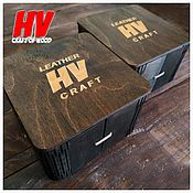 Материалы для творчества handmade. Livemaster - original item Belt box with any logo. Handmade.
