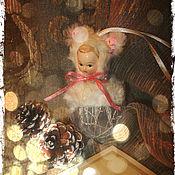 """Подарки к праздникам ручной работы. Ярмарка Мастеров - ручная работа Шарик """" Зайка """" . Резерв .. Handmade."""
