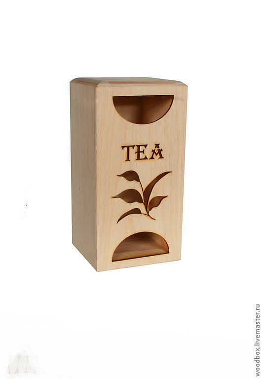 201010ChR Tea house box blank for painting, Blanks for decoupage and painting, Moscow,  Фото №1