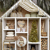 Куклы и игрушки handmade. Livemaster - original item The HOUSE where wintering sheep. Handmade.