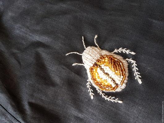 Блузки ручной работы. Ярмарка Мастеров - ручная работа. Купить Ручная вышивка. Handmade. Антикварный бисер, вышивка ручная