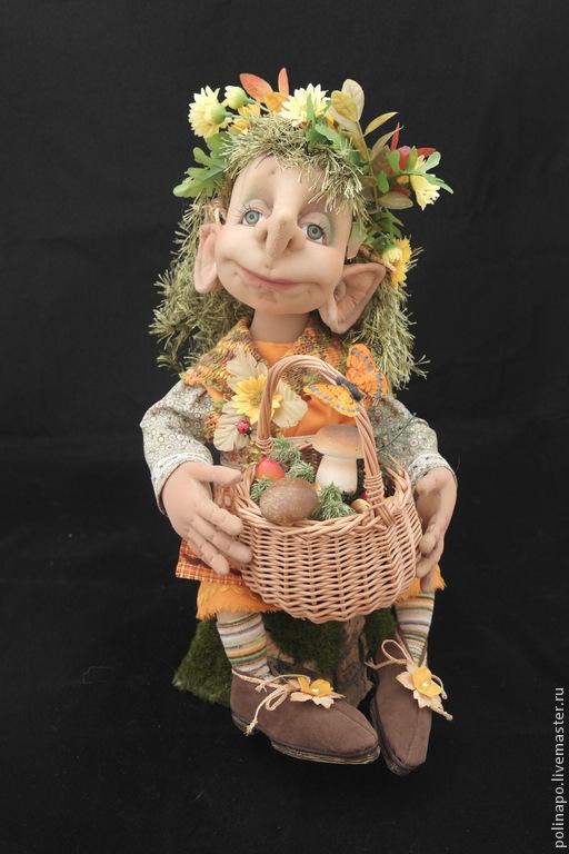 Fairy-Tale Dolls handmade. Livemaster - handmade. Buy Lesovaya (Forest Elf).Handmade, exclusive, folklore, lesovoi, slavic folklore