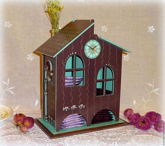 Кухня ручной работы. Ярмарка Мастеров - ручная работа. Купить Чайный домик двойной Мятный Шоколад. Handmade. Чайный домик
