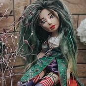 Куклы и игрушки handmade. Livemaster - original item Melissa-author`s textile articulated doll. Handmade.