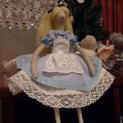 Куклы и игрушки ручной работы. Ярмарка Мастеров - ручная работа Кукла Алиса-1. Handmade.