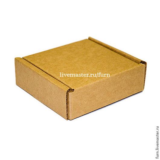 Упаковка ручной работы. Ярмарка Мастеров - ручная работа. Купить Коробка 75х75х40 самосборная из плотного гофркартона УП-1. Handmade.