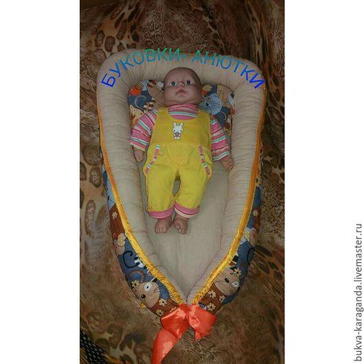 Для новорожденных, ручной работы. Ярмарка Мастеров - ручная работа. Купить Кокон гнёздышко babynest. Handmade. Кокон для новорожденного, babynest