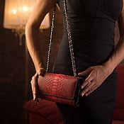 Сумки и аксессуары handmade. Livemaster - original item Women`s clutch bag from pianoboy skin IMP0050R. Handmade.