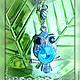 Кулоны, подвески ручной работы. Кулон на цепочке Сова. Мария Кузьмина (Маруся). Интернет-магазин Ярмарка Мастеров. Сова, птицы