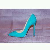 Обувь ручной работы handmade. Livemaster - original item shoes in varnish leather