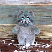 Куклы и игрушки handmade. Livemaster - original item Cheshire fur cat. Handmade.