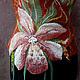 """Жилеты ручной работы. Ярмарка Мастеров - ручная работа. Купить жилет из войлока """"Дикая орхидея"""". Handmade. Цветок, рисунок"""