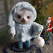 Куклы и игрушки ручной работы. Ярмарка Мастеров - ручная работа валяная  сова  СОФИ. Handmade.