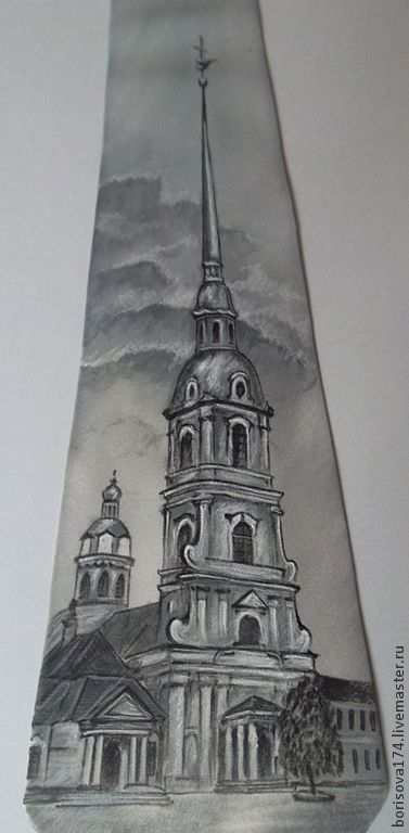 Tie 'the Peter and Paul Cathedral', Ties, Chelyabinsk,  Фото №1