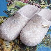 """Обувь ручной работы handmade. Livemaster - original item Валяные женские тапочки """"Русалка"""". Handmade."""