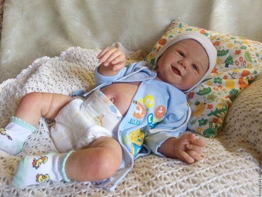Куклы-младенцы и reborn ручной работы. Ярмарка Мастеров - ручная работа. Купить Русланчик из Молд Tommy by Sandy Faber. Handmade.