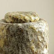 Посуда ручной работы. Ярмарка Мастеров - ручная работа Керамическая банка в японском стиле ЗАМОРОЗКИ. Handmade.