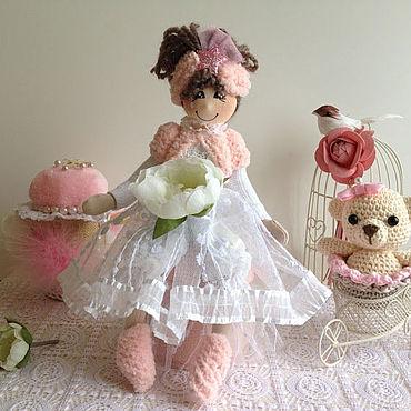 Куклы и игрушки ручной работы. Ярмарка Мастеров - ручная работа Куклы: кукла Лиза.. Handmade.