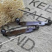 Материалы для творчества handmade. Livemaster - original item Brooch pin 35mm Japan (3217-H). Handmade.