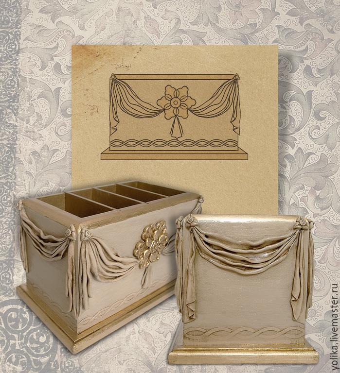 Элементы драпировки и золочение поталью повторяют элементы на боковинах дивана.