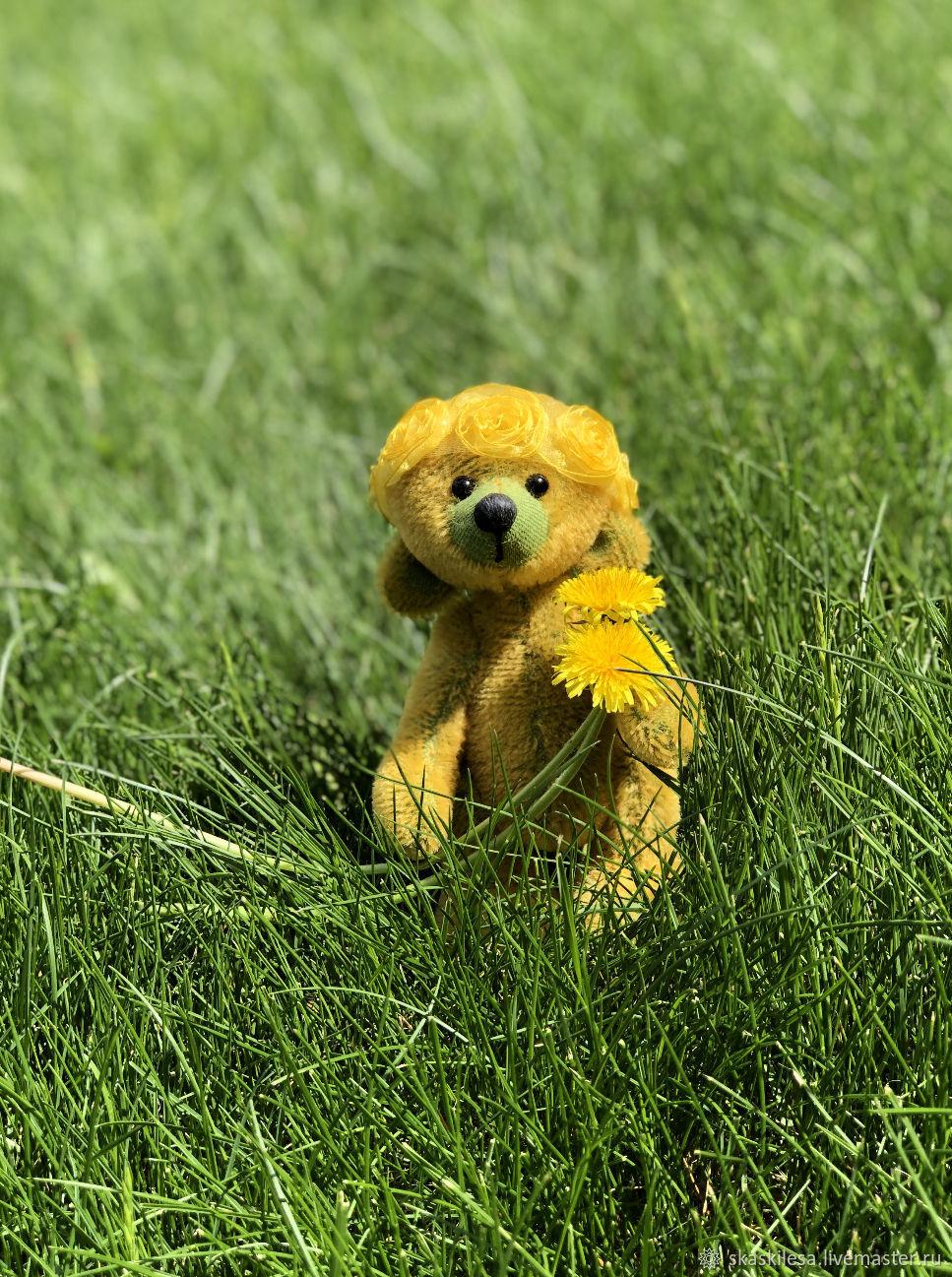 Мишка Тедди Одуванчик, Мишки Тедди, Новосибирск,  Фото №1