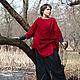 Платья ручной работы. Ярмарка Мастеров - ручная работа. Купить Платье Анахата. Handmade. Ярко-красный, платье с вышивкой