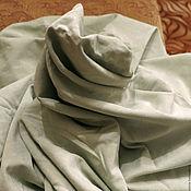 Материалы для творчества ручной работы. Ярмарка Мастеров - ручная работа Ткань под мягкую замшу светлая мята. Handmade.