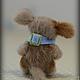 Мишки Тедди ручной работы. собачка Мушка. Сказка рядом. Ярмарка Мастеров. Крошка, пластика