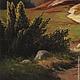 """Пейзаж ручной работы. Картина """"Дубы"""". Эдуард Жалдак - живопись. Ярмарка Мастеров. Пейзаж маслом, картина в гостиную, подарок женщине"""