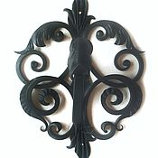 Для дома и интерьера handmade. Livemaster - original item Bracket lamp, hand wrought. Handmade.