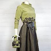 Одежда ручной работы. Ярмарка Мастеров - ручная работа Платье Экзотика. Handmade.