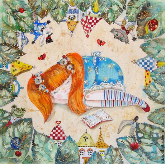 Сон Алисы (60*60) 10000р.