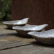Посуда ручной работы. Ярмарка Мастеров - ручная работа Пиалы - листики. Handmade.