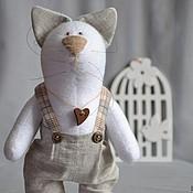 Куклы и игрушки ручной работы. Ярмарка Мастеров - ручная работа Котёнок №1. Handmade.