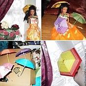 Куклы и игрушки ручной работы. Ярмарка Мастеров - ручная работа Зонтики для кукол.. Handmade.