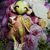 """Куклы и пупсы ручной работы. Ярмарка Мастеров - ручная работа Кукла ручной работы """"Девочка-растение"""". Handmade."""