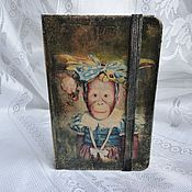 Подарки к праздникам handmade. Livemaster - original item Notebook Monkey, decoupage. Handmade.