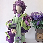 """Куклы и игрушки ручной работы. Ярмарка Мастеров - ручная работа По мотивам """"Люссиль..."""". Handmade."""