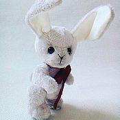 Куклы и игрушки ручной работы. Ярмарка Мастеров - ручная работа Зайчик Побегайчик. Handmade.