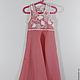 Одежда для девочек, ручной работы. Ярмарка Мастеров - ручная работа. Купить Платье Розовый ажур. Handmade. Платье для девочки