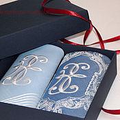 Аксессуары ручной работы. Ярмарка Мастеров - ручная работа Мужские носовые платки с вышивкой. Handmade.