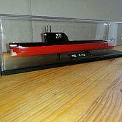 Техника, роботы, транспорт ручной работы. Ярмарка Мастеров - ручная работа Техника, роботы, транспорт: Модель подводной лодки К-19. Handmade.