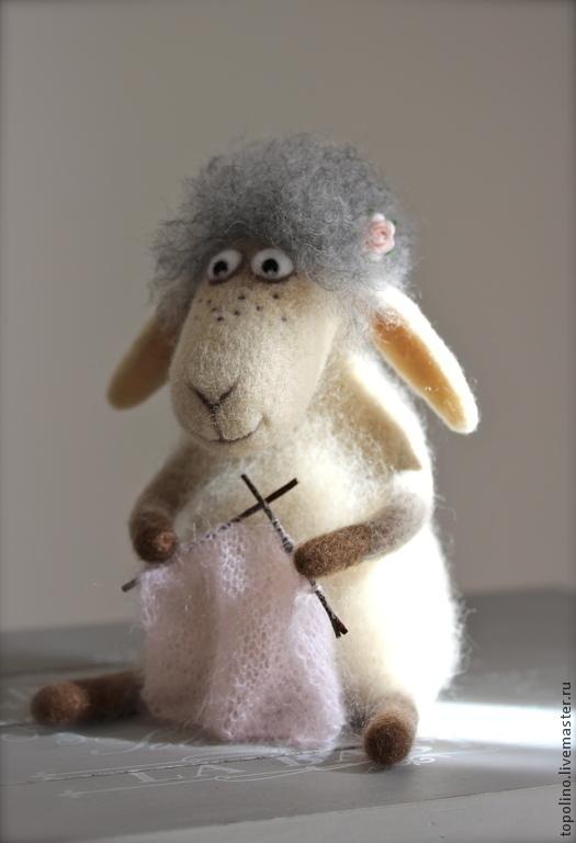 Валяние из шерсти овечек