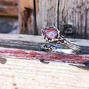 Украшения handmade. Livemaster - original item Ring with ruby. Handmade.