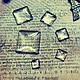 Для украшений ручной работы. Ярмарка Мастеров - ручная работа. Купить ВСЕ РАЗМЕРЫ!. Квадратный стеклянный кабошон. Handmade. Белый