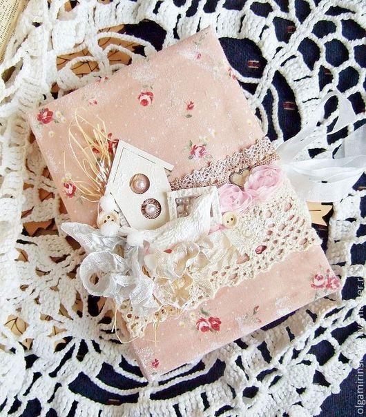 Блокноты ручной работы. Ярмарка Мастеров - ручная работа. Купить Блокнот. Handmade. Бежевый, блокнот в подарок, Скрапбукинг, подарок женщине