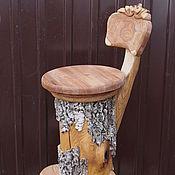 Для дома и интерьера ручной работы. Ярмарка Мастеров - ручная работа Деревянные барные стулья. Handmade.