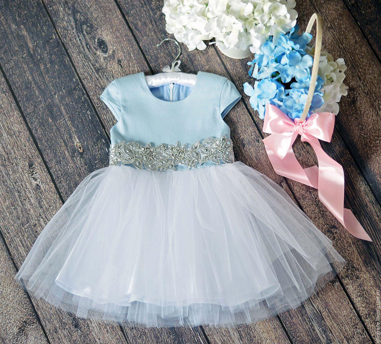 Пышное платье из фатина для девочки своими руками
